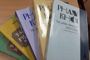 Phát hiện thú vị về cuộc đời và sự nghiệp của nhà báo Phan Khôi