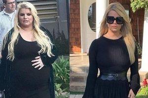 Nữ ca sĩ Mỹ giảm 45 kg sau khi sinh con