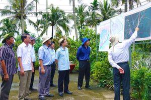 Khảo sát vị trí xây dựng hệ thống thủy lợi cống Cái Lớn - Cái Bé