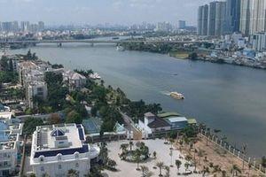 Có thể đi xe đạp trên cầu đi bộ qua sông Sài Gòn