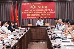 Quý 4-2019 cơ bản hoàn thành việc giải quyết chế độ cho lực lượng dân công hỏa tuyến