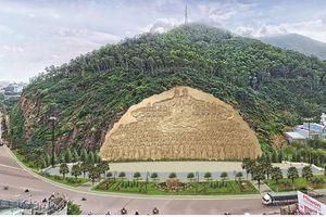Tạm dừng dự án bức phù điêu 'khủng' 86 tỷ ở Bình Định