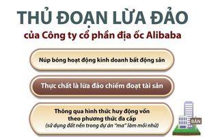 Những thủ đoạn lừa đảo của Công ty cổ phần địa ốc Alibaba