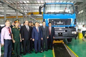 Hưng Yên: Khánh thành nhà máy sản xuất và lắp ráp ôtô MAZ ASIA