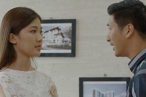 'Hoa hồng trên ngực trái' tập 16: Thái nghi ngờ Trà có mối quan hệ bất chính