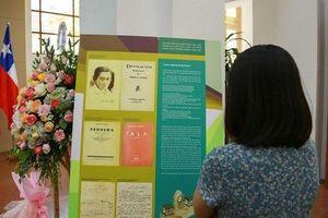 Triển lãm ảnh về nhà thơ Gabriela Mistral
