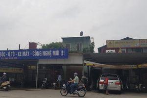 Cần xử lý nghiêm điểm rửa xe gây mất an toàn giao thông ở phường Mai Dịch