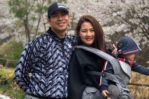 Ngọc Lan đăng ảnh tình cảm bên Thanh Bình giữa nghi vấn ly thân