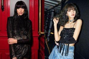 Lần đầu tiên trong sự nghiệp, Dua Lipa cắt tóc mái trông giống hệt Lisa (Blackpink)