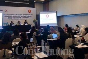Tăng cường năng lực thương mại điện tử cho doanh nghiệp siêu nhỏ, nhỏ và vừa trong ASEAN