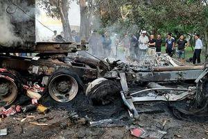 Đã xác định được danh tính tài xế chết cháy trong cabin tại QL5