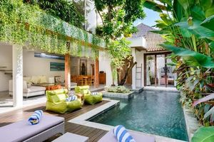 Ngỡ ngàng ngôi biệt thự phong cách 'rừng nhiệt đới' tuyệt đẹp