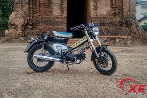Honda Cub 1979 giá 1 triệu hóa thân tuyệt đẹp qua tay thợ Bình Định