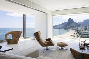 Căn hộ có tầm nhìn 360 độ ra bãi biển, view đẹp không góc chết khiến ai cũng muốn đến ở