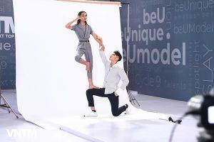 Loạt ảnh tạo dáng đôi ấn tượng của thí sinh Vietnam's Next Top Model vòng photoshoot