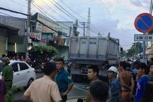Người phụ nữ ngã văng xuống đường tử vong sau va chạm xe ben