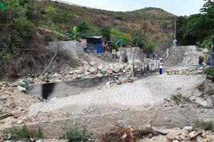 Nhiều công trình thoát lũ ở Khánh Hòa chậm sửa chữa, người dân bất an