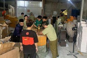 Thu giữ gần 9.000 sản phẩm thời trang 'nhái' hàng hiệu