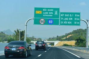 Thông xe tuyến cao tốc mới, từ Hà Nội đi Lạng Sơn rút ngắn được 1 tiếng