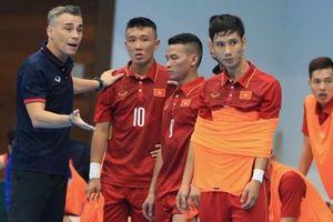Đội tuyển futsal Việt Nam chuẩn bị cho Giải vô địch Đông - Nam Á 2019