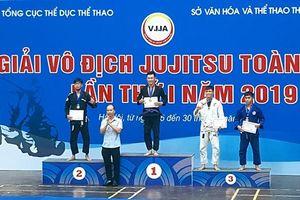 Bế mạc Giải vô địch jujitsu toàn quốc lần thứ nhất năm 2019