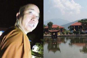 Chính thức đình chỉ chức trụ trì chùa Nga Hoàng 3 tháng với nhà sư gạ tình phóng viên
