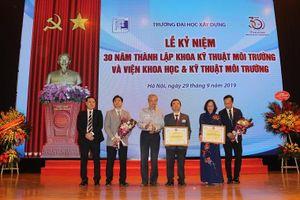 Trường ĐH Xây dựng: Kỷ niệm 30 năm thành lập Khoa Kỹ thuật Môi trường