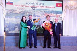 Vun đắp tình hữu nghị giữa nhân dân Thành phố Hồ Chí Minh và Slovakia