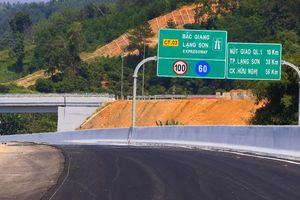 Thông xe kỹ thuật cao tốc Bắc Giang – Lạng Sơn