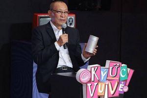 Lão làng trong nghề MC, Lại Văn Sâm vẫn gặp 'tai nạn nghề nghiệp'