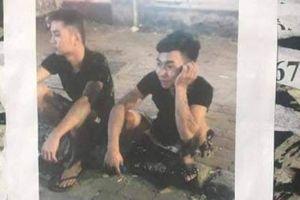 Cảnh sát dán tờ rơi truy tìm hai đối tượng nghi sát hại nam sinh Grab