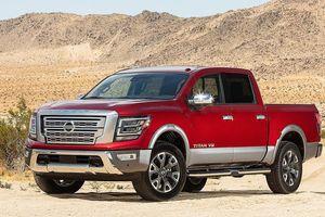 Xe bán tải 'khổng lồ' Nissan Titan 2020 đối đầu Ford F-150