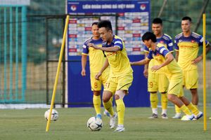 ĐT Việt Nam thiệt quân trước trận đấu với ĐT Malaysia