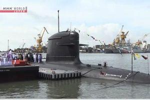 Trung Quốc 'giật mình' khi Ấn Độ triển khai tàu ngầm mới tự chế tạo