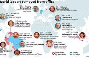 Những lãnh đạo thế giới từng bị luận tội, xét xử
