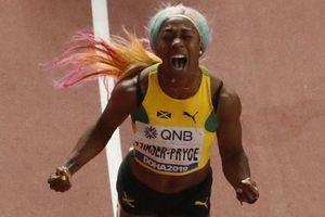 Nữ VĐV Jamaica đi vào lịch sử điền kinh thế giới