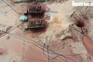 Bình Thuận: Sụp hầm, 1 công nhân bị vùi lấp tử vong tại công trường khai thác titan