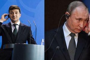 Ukraine: Người dân yêu cầu Tổng thống Zelensky công bố nội dung cuộc điện đàm với ông Putin
