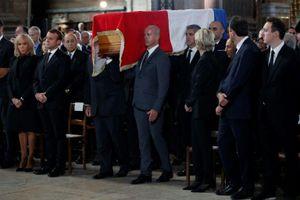 Lãnh đạo nước ngoài dự lễ tang cựu Tổng thống Pháp Jacques Chirac