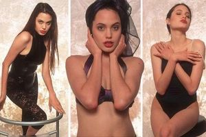 Angelina Jolie gợi cảm căng đầy sức sống trong ảnh áo tắm năm 16 tuổi