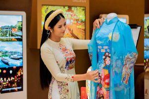 Hoa hậu Ngọc Hân hiếm hoi tái xuất làm vedette sau nhiều năm