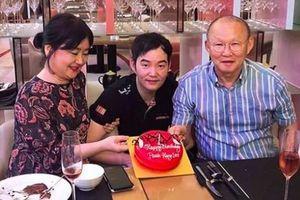 HLV Park Hang-seo được tổ chức sinh nhật sớm trước trận đại chiến với Malaysia