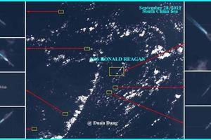 Hàng không mẫu hạm Hoa Kỳ tới Biển Đông, Trung Quốc điều 7 tàu chiến đối phó?