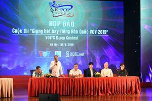 VOV khởi động cuộc thi Giọng hát hay tiếng Hàn Quốc 2019