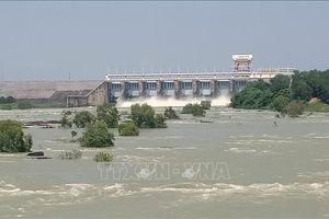 Đỉnh triều sông Đồng Nai vượt báo động III, Thủy điện Trị An ngưng xả tràn