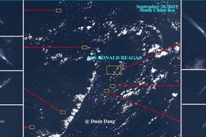 Tình hình Biển Đông: Tàu sân bay Mỹ bị 5 chiến hạm Trung Quốc vây quanh