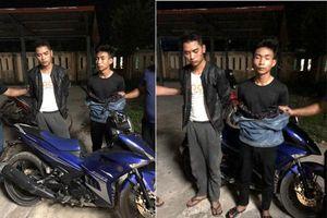 Thu giữ chiếc xe của nam sinh bị sát hại