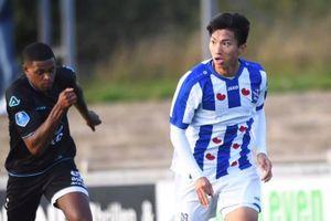 Đoàn Văn Hậu gây ấn tượng trong lần đầu đá đủ 90 phút ở Heerenveen