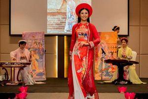 Hoa hậu Ngọc Hân tái xuất vai trò người mẫu tại Ả-rập Xê-út