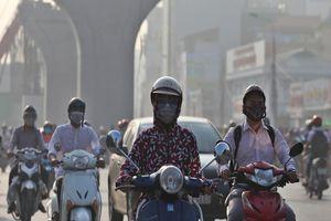 Bộ TN&MT khuyến cáo dân hạn chế ra ngoài vì ô nhiễm không khí